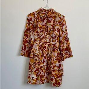 Karen Walker buttoned silk dress